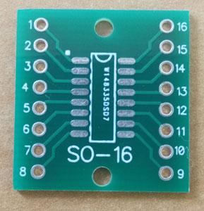 Плата макетна SO-16